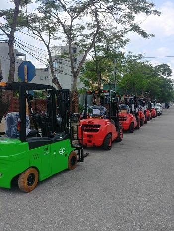 Xe nâng trung quốc, xe nâng EP (Zhongli )