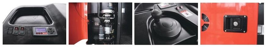 Đặc điểm xe nâng điện Reach Truck ngồi lái 1,2 tấn CQD12R(F)